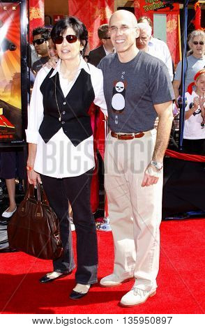 Jeffrey Katzenberg at the Los Angeles premiere of 'Kung Fu Panda' held at the Grauman's Chinese Theater in Hollywood, June 1, 2008.