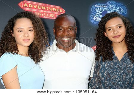 LOS ANGELES - JUN 23:  Daughter, Phill Lewis at the 100th DCOM Adventures In Babysitting LA Premiere Screening at the Directors Guild of America on June 23, 2016 in Los Angeles, CA