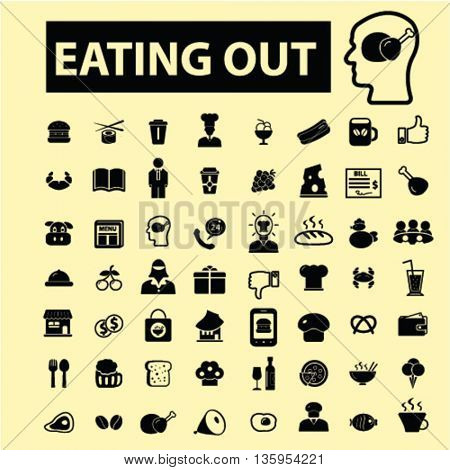 eating out icons