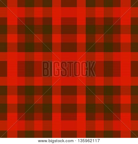 abstract vector tartan seamless - red and green