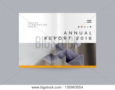 Abstract Background. Geometric Shapes and Frames for Presentation, Annual Reports, Flyers, Brochures, Leaflets, Posters and Document Cover Pages Design.