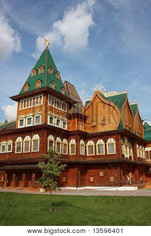 Palace in the muzeum-estate Kolomenskoe.