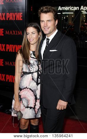 Chris O'Donnell at the Los Angeles premiere of 'Max Payne' held at the Grauman's Chinese Theater in Los Angeles, USA on October 13, 2008.