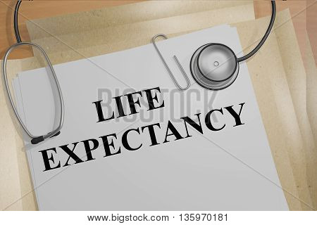 Life Expectancy Medical Concept