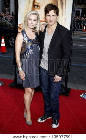 Peter Facinelli and Jennie Garth at the Los Angeles premiere of 'Letters To Juliet' held at the Grauman's Chinese Theater in Hollywood. USA on May 11, 2010.