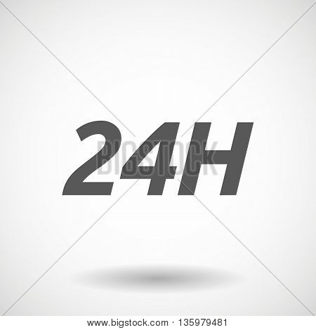 Illustration Of    The Text 24H