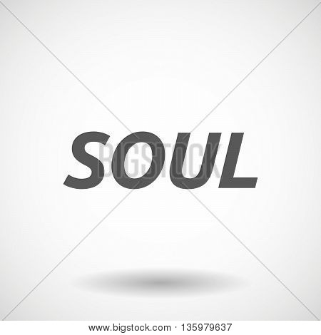 Illustration Of    The Text Soul