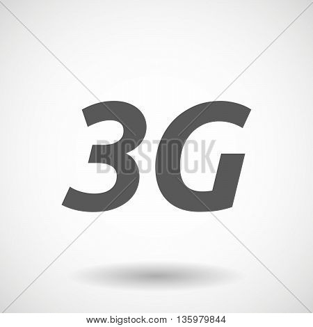 Illustration Of    The Text 3G