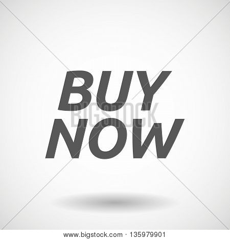 Illustration Of    The Text Buy Now