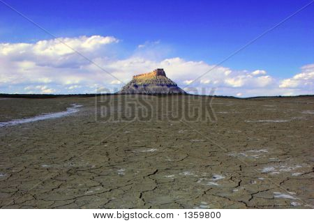 Dry Desert In Utah