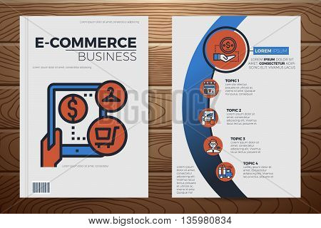 E-commerce Business Book Cover Template