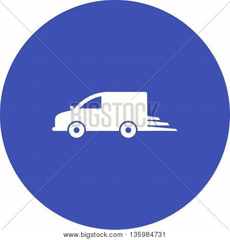 Delivery, fast, express icon vector image. Can also be used for logistics. Suitable for mobile apps, web apps and print media.