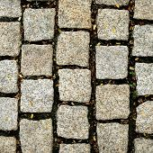stock photo of stone floor  - stone ground - JPG