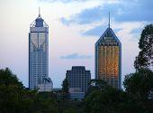 Perth Buildings poster