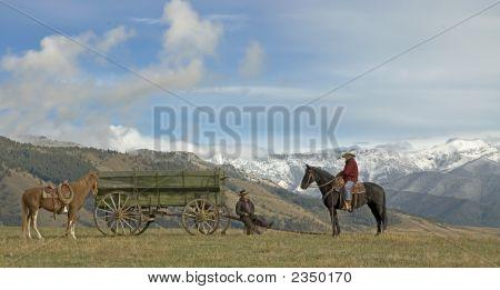 Cowboys On A Break