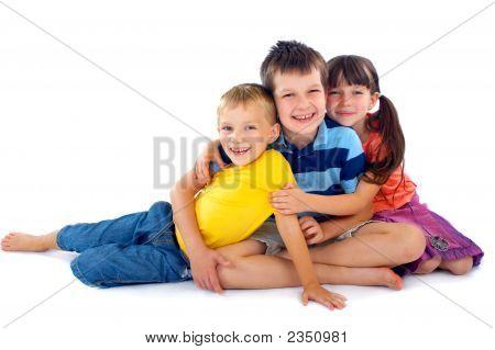 Happy Children Portrait