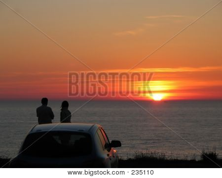 Date On A Sunset