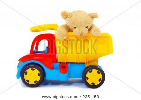 Toy Bear And Truck