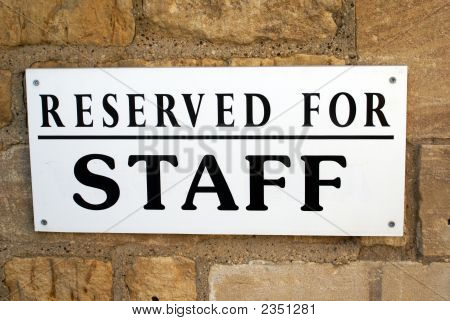 Sign. Reserved For Staff Sign.