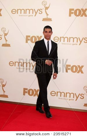 LOS ANGELES - SEP 18:  Wilmer Valderrama arriving at the 63rd Primetime Emmy Awards at Nokia Theater on September 18, 2011 in Los Angeles, CA