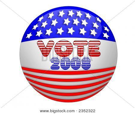 Vote 2008 3D Ball