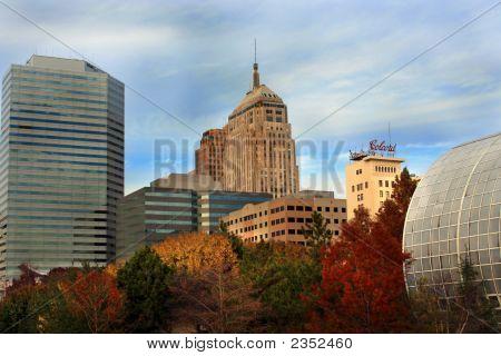 Horizonte de la ciudad de Oklahoma