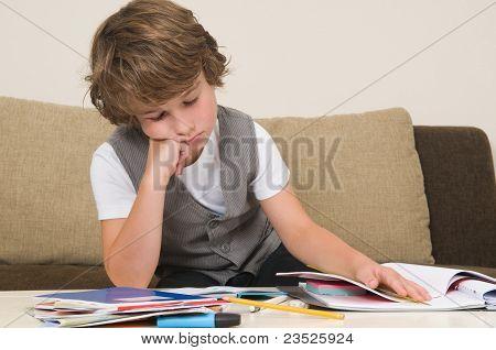 Tired Of Homework