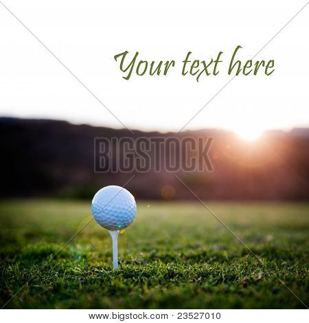 Bola de golfe
