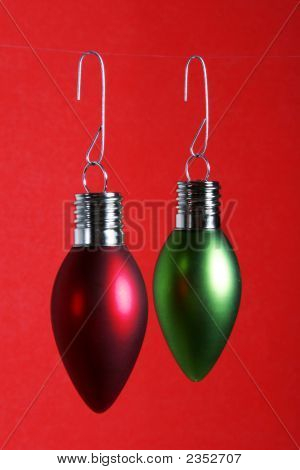 Christmas Bulbs Lights Holiday Decorations