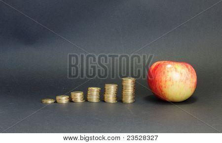Geld gegen Essen