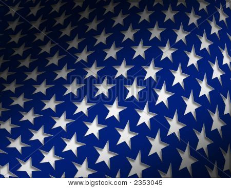 Stars - Blue