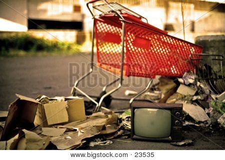Homeless People Watch TV Too