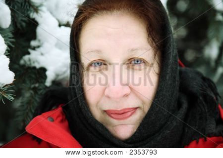 Positive Winter Portrait
