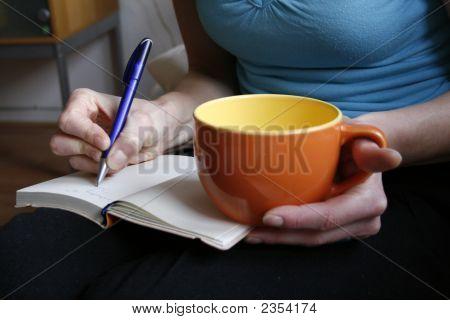 Café y calendario