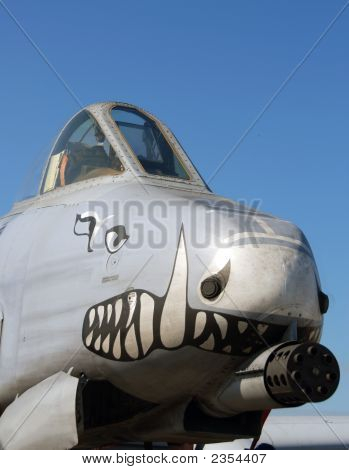Military Aircraft Nose