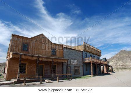 American Western Town