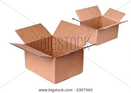 Two Shipping Boxes