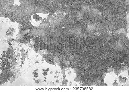 poster of Marble Texture. Marble Background. Empty Gray And White Background From The Old Wall Of The Building