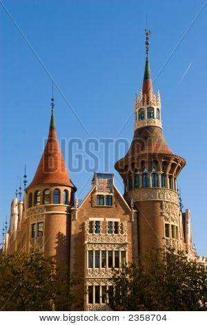 Belos edifícios Europeia