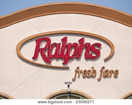 LOS ANGELES, CALIFORNIA - SEPT 17:  Ralphs grocery company management says it will close up to 100 stores if union workers go out on strike on September 17, 2011 in Los Angeles, California.