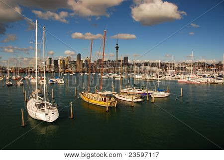 Auckland- city of sails