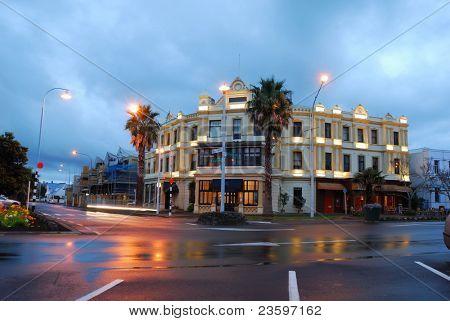 Devenport Steet shot, Auckland, New Zealand