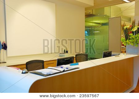 business receptionist