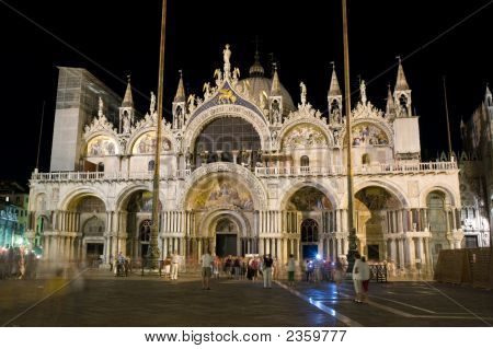 San Marco Cathedral In Venice