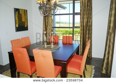 dinning room with elegant furniture