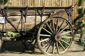 Old Antique Wagon poster