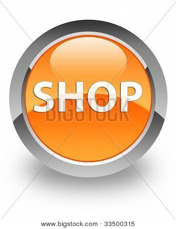 Shop glossy icon