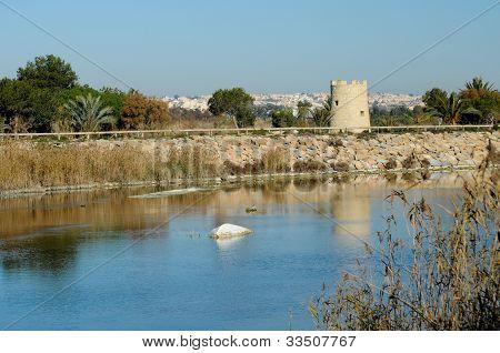 River Segura, Alicante province, Spain