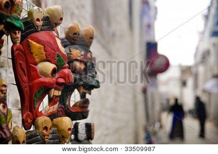 Tibetan Mask, Lhasa