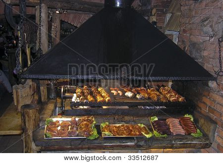Meats On The Grill